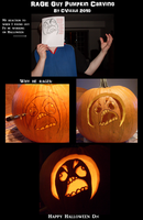 Rage Guy Pumpkin by CVizzle