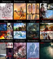 What I did in the year of 2012 by Rosalind-WT