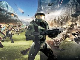 Halo Ten Years Ago... by DANYVADERDAY