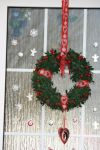 My selfmade doorwreath for chistmas by ingeline-art