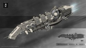 Interstellar Nebula  3D concept presentation by Iggy-design
