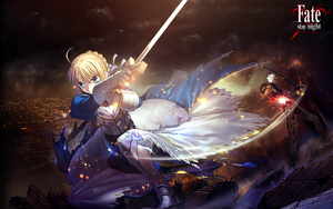 Saber Fate Stay Night by cristyan31