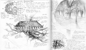 Galadriel's Hall Sketches by TurnerMohan