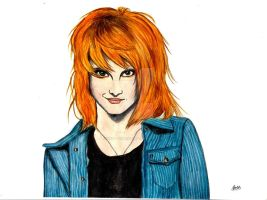 Hayley Williams by Metalhead99