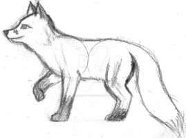 Fox Sketch by Arnar-Conar
