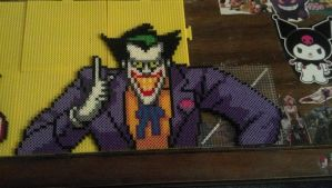 The Joker perler by hyliacupcake