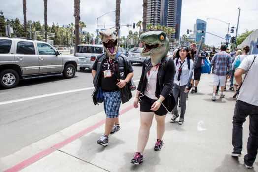 Dinos (San Diego Comic Con 2015) by dicklaurent74