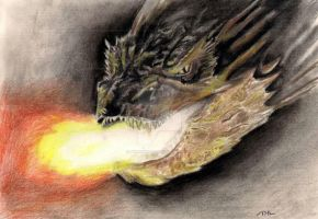 Smaug The Tyrannical by kill312