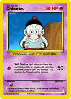 Pokemon Chiaotzu by InarticulateMonkey