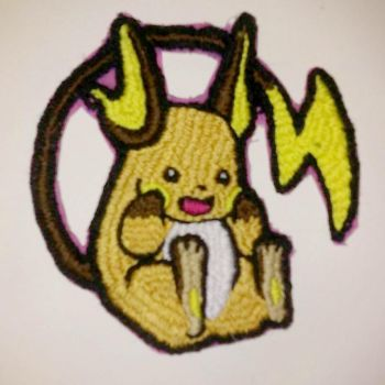 Raichu Patch by RoryRochelle