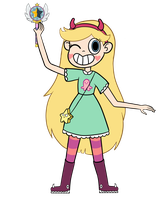 Star Butterfly by PastelCapricorn