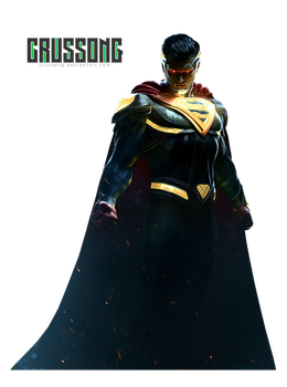 Injustice 2 - SUPERMAN render by Crussong