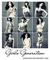 Cards - SNSD by HigSousa