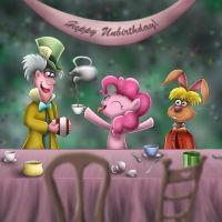 Pinkie Pie in Wonderland by wdeleon
