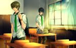 MakoHaru: Distance by Iwonn