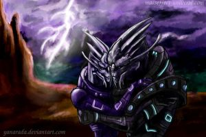 Saren and Amonis by Yanarada