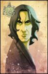Severus Snape by ubegovic
