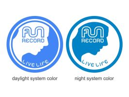 funrecord world logo type by weknow