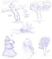 Tree People - June 2014 by qwertypictures