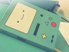 BMO Sketchbook by Priscila-Mizu33