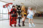 RWBY girls by Odango-datte