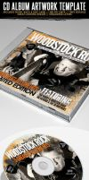 Woodstock Rock Compilation CD Artwork PSD by ShermanJackson