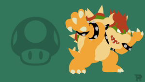 Bowser Minimalist by turpinator77