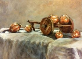 Onion Cart Still Life (2005) by LaNora-84