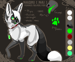 Naomi internet ref for 09'. by FrostBlaze442