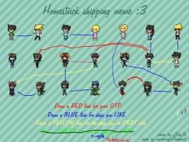 .:Homestuck shipping meme:. by spidersarecoming