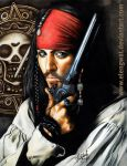 Jack Sparrow_Commission by FranciscoETCHART