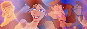 Hercules and Megara Banner by SailorTrekkie92
