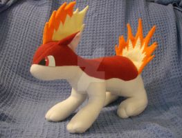 Shiny Quilava Plush by xxtemporaryinsanity