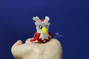 Dilbert the Pompom Delibird by MeMiMouse