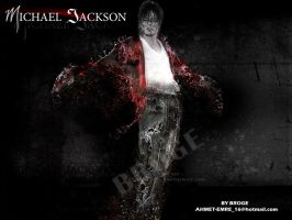 mj king of pop by ahmetbroge