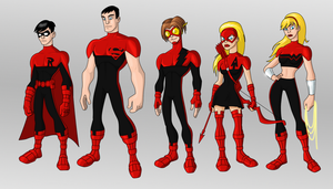 Teen Titans by payno0