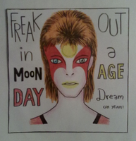 Poster #2 Moonage Daydream by skylenblue