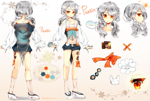 Character Sheet: Pantin by Lapia