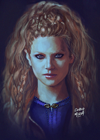 Lagertha by ceriselightning