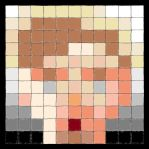My own Betteo's Tile Portrait by BO0Radley