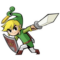 LoZ Minish Cap by Broken-Seal