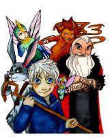 Rise of the guardians by Ayaluna