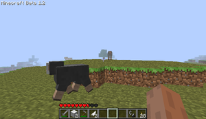 Minecraft Beta 1.2 Sheep by Twistedsnail