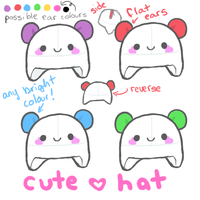 Cute hat design by atomicspacemonkey