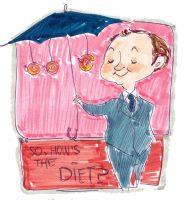 How's the diet Mycroft? by rompopita