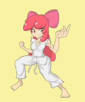 Karate Bloom by Janji009