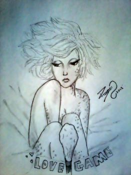 fan art by roogert lady gaga by ROOGERT