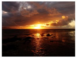 Anglesey sunset 2 by Measels