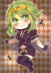 Chibi Checkmate Gumi-san by NuclearMoon21