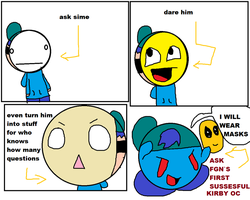 ask dare or turn things into him SIME by skywirefan